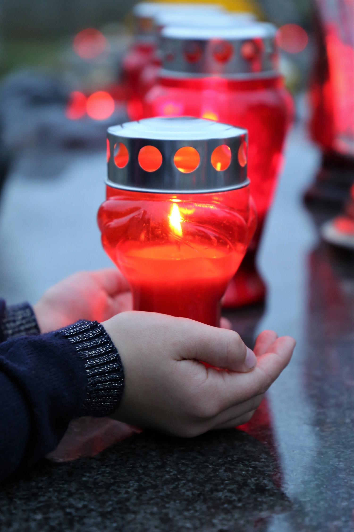 Gedenken der Verstorbenen der Corona-Pandemie