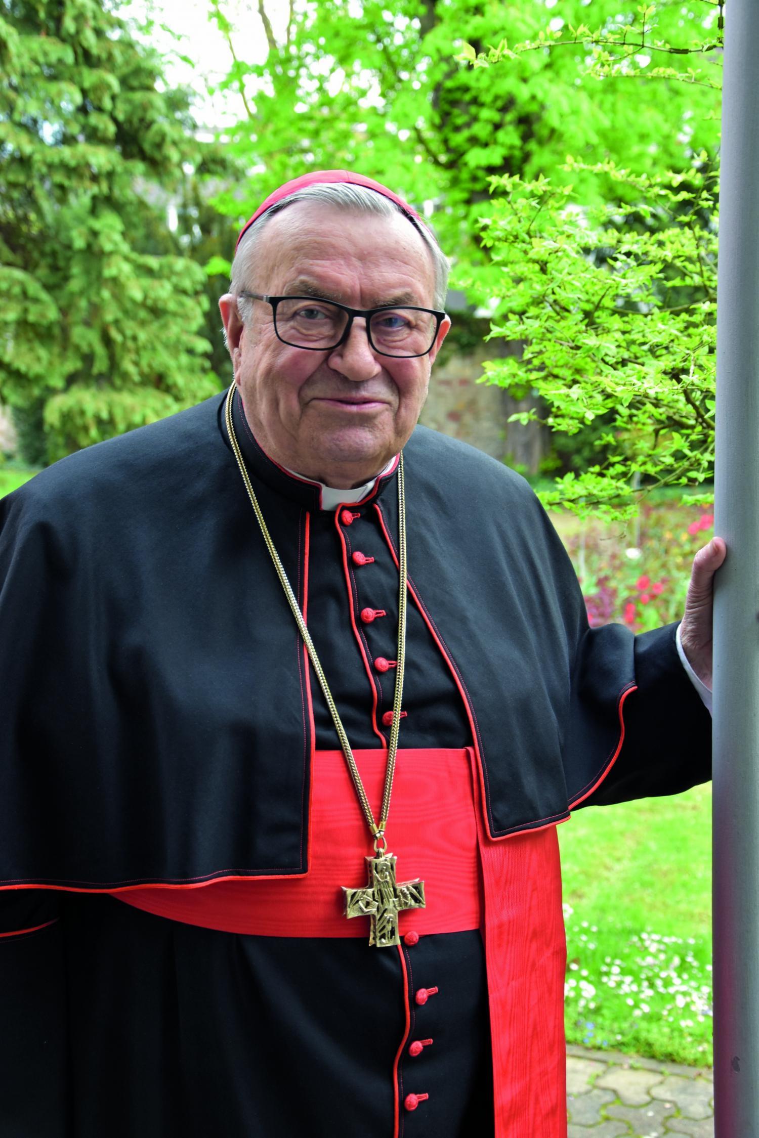 Kardinal Lehmann Mainz